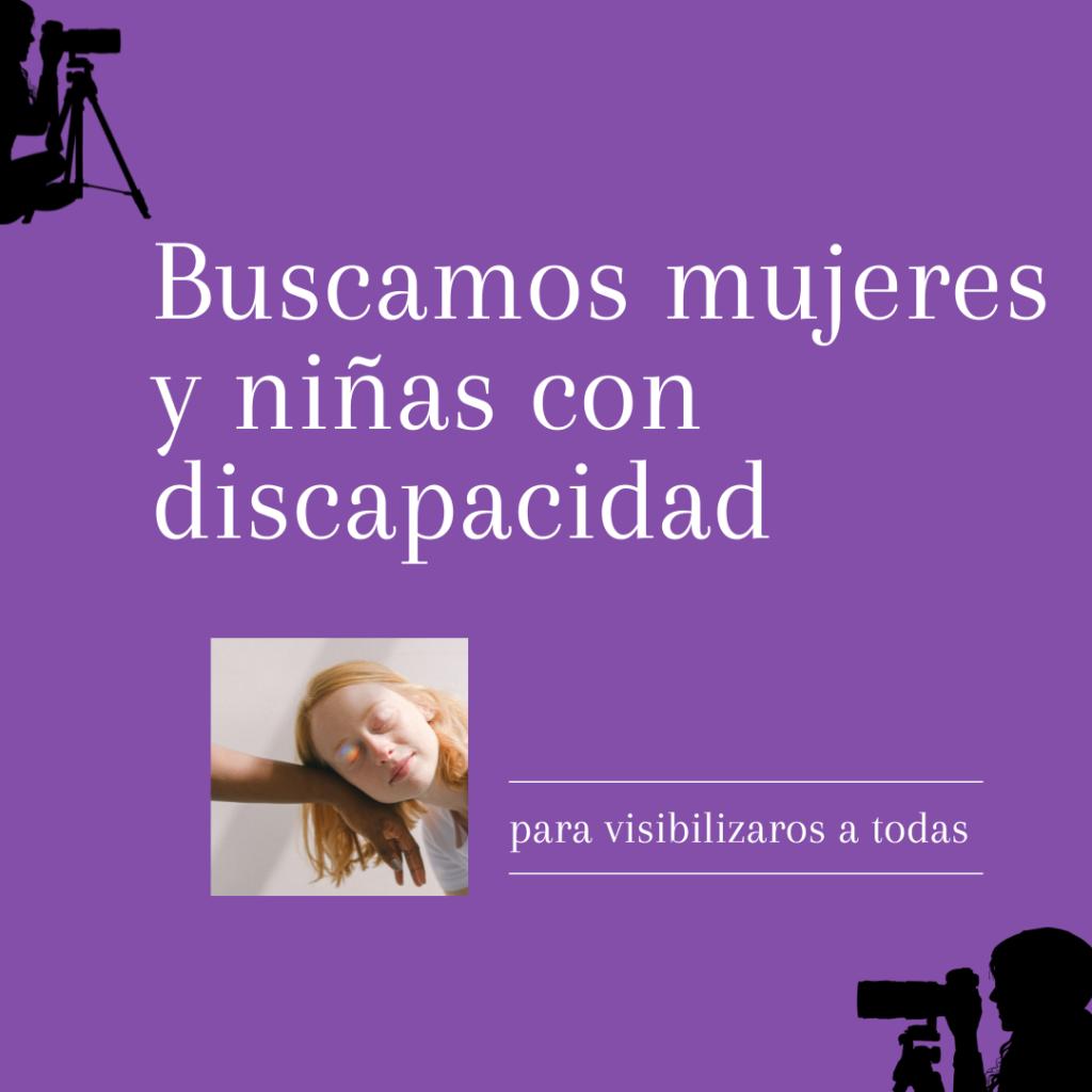 buscamos_mujeres_niñas_con_discapacidad_para_participar_en_video_corporativo_en_CEMUDIS
